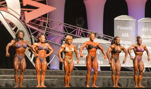 Having a lightweight division in the Ms. Olympia gave smaller but highly aesthetic competitors a chance to win a title.