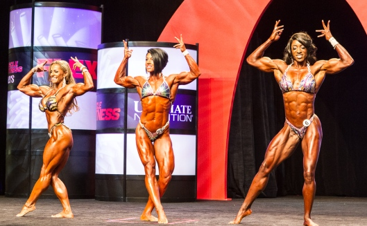 Physique Olympia posing 2014-138