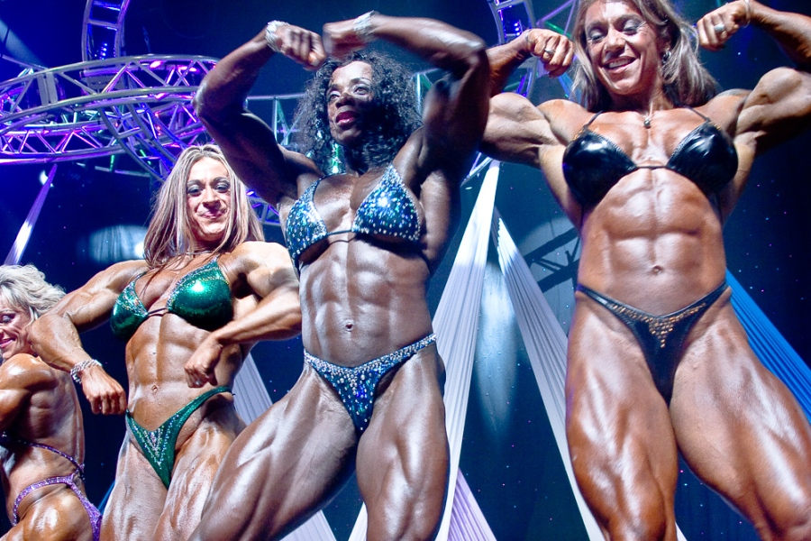There is drama in a bodybuilding posedown missing from endless quarter turns.