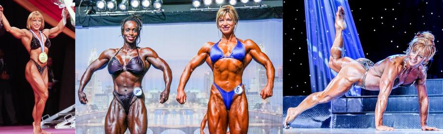 Juliette Bergmann, Dayana Cadeau, Valentina Chepiga, Cathy LeFrancoois - lightweights rule!