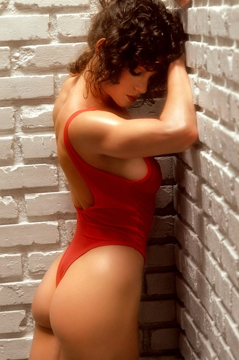 Lisa Lyon was featured in Playboy and photographed for a book by Robert Mapplethorpe.