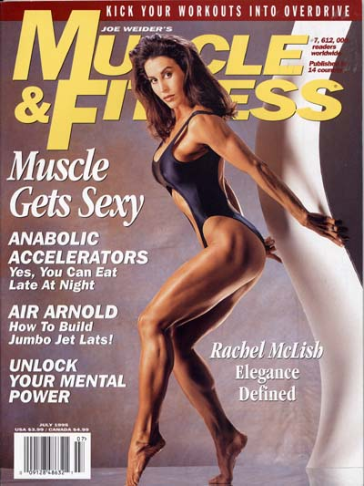 Joe Weider was quick to promote female bodybuilding from the beginning.