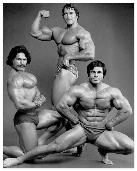 Both Arnold Schwarzenegger and Franco Columbu admit they learned a lot about posing from Ed Corney.