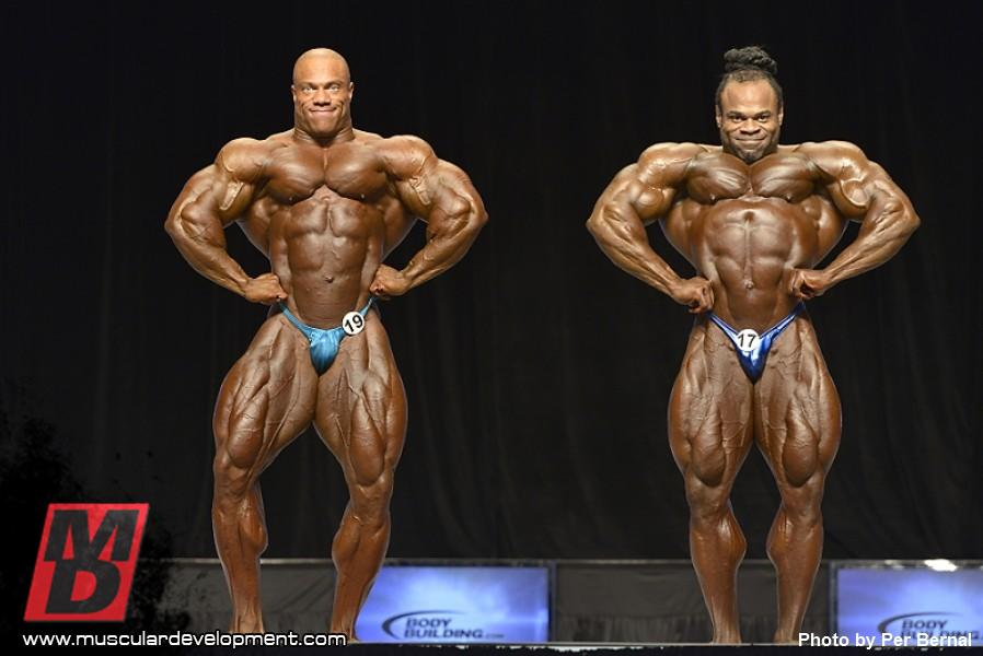 Phil Heath and Kai Greene are truly excellent bodybuilders. But there are other fantastic competitors who are much smaller and shouldn't be judged in the same weight division..